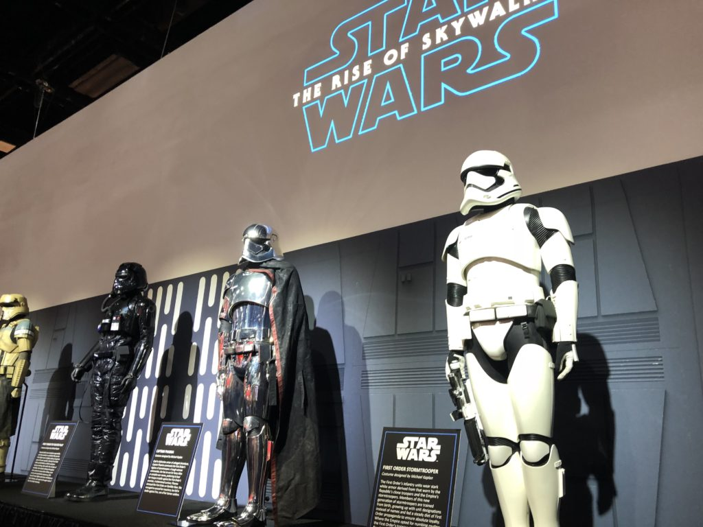 Star Wars display at San Diego Comic Con